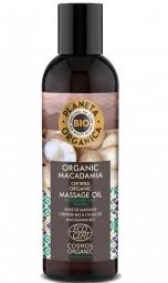 Masážny olej na telo Makadamia
