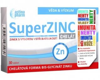 SuperZINC CHELÁT 30tbl Astina Pharm