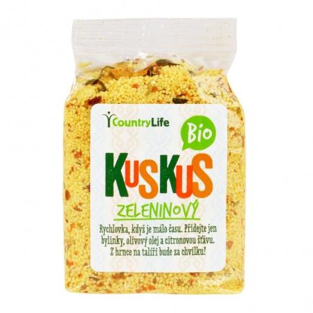 Kuskus ochutený zeleninový 330 g BIO COUNTRY LIFE