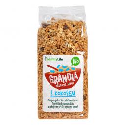 Granola - Chrumkavé müsli s kokosom 350 g BIO COUNTRY LIFE