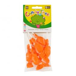 Lízanky s príchuťou pomaranč bezlepková 7x10 g BIO CANDY TREE