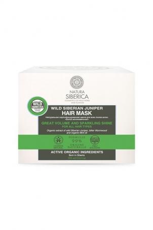 Vlasová maska Divá Sibírska Borievka - Dokonalý objem a lesk pre všetky typy vlasov