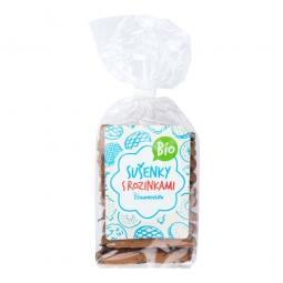 Sušienky s hrozienkami 230 g BIO