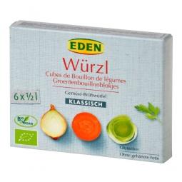 Bujón zeleninový WÜRZL kocky 66 g BIO EDEN