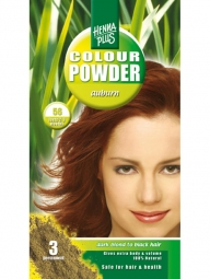 HennaPlus Prírodná prášková farba Gaštanová 56