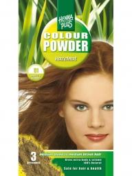 HennaPlus Prírodná prášková farba Oriešková 51