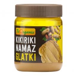 Krém arašidový jemný 340 g BIO BIORGANIC