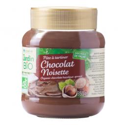 Nátierka čokoládovo-liesková 350 g BIO JARDIN BIO