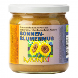 Krém zo slnečnicových semien 330 g BIO Monk
