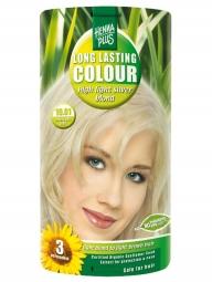 HennaPlus Dlhotrvajúca farba Extra Strieborná Blond 10.01