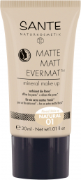 Matte Matt EvermatTM minerálny make-up 01 natural 30 ml