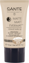 Matte Matt EvermatTM minerálny make-up 03 Golden 30 ml