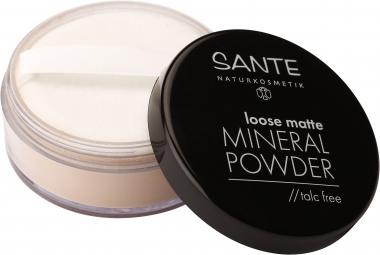 Sypký minerálny púder matte 02 Sand 12 g