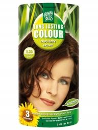 HennaPlus Dlhotrvajúca farba Čokoládovo Hnedá 5.35