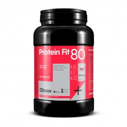 ProteinFit 80 2000 g/66 dávok jahoda