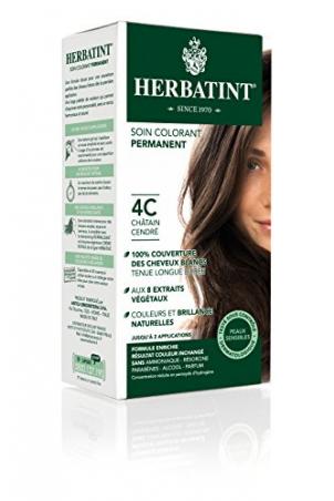 HERBATINT permanentná farba na vlasy popolavý gaštan 4C