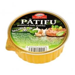 Paštéta PATIFU bazalka a cesnak 100 g