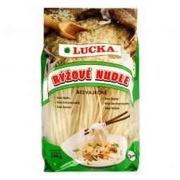 Cestoviny rezance ryžové 3 mm bezlepkové 240 g LUCKA
