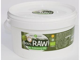 RAW kokosový olej 2,5 l