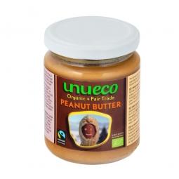 Krém arašidový jemný fair trade 250 g BIO UNUECO