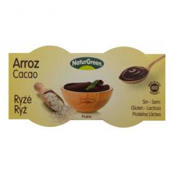 Dezert ryžový s čokoládou 2x125 g BIO