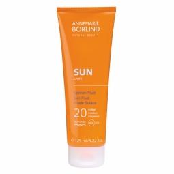 Opaľovacie fluid proti slnečným alergiám SPF 20