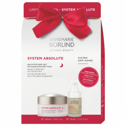 Xmas SYSTEM ABSOLUTE pack Nočný krém 50ml + Sérum 15ml GRÁTIS