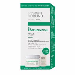 LL Regeneration System Vitality Regeneračný denný krém 50ml + LL Čistiace mlieko 50ml GRÁTIS