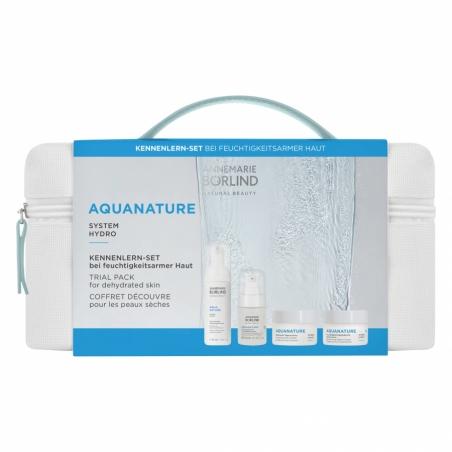 AQUANATURE System Hydro Aquanature taštička mini pre nedostatočne hydratovanú pleť