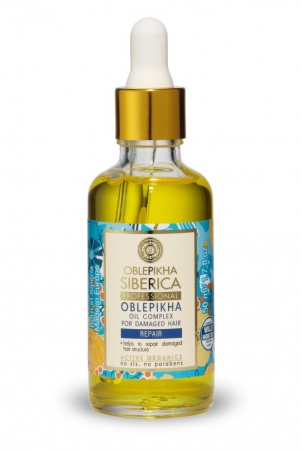 Rakytníkový olejový komplex pre poškodené vlasy