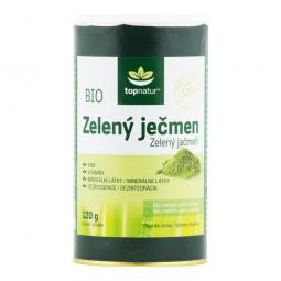 Jačmeň zelený 120 g BIO TOPNATUR