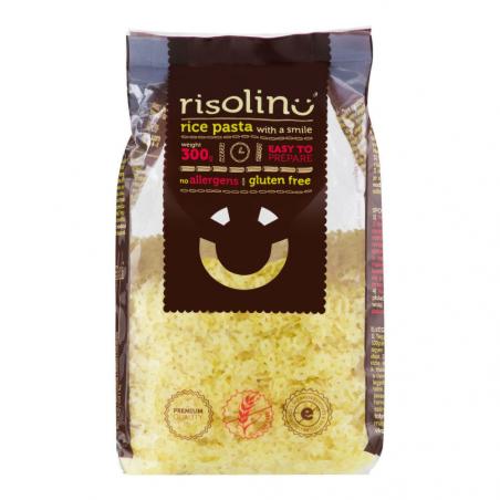 Cestoviny polievkové hviezdičky ryžové bezlepkové 300 g RISOLINO