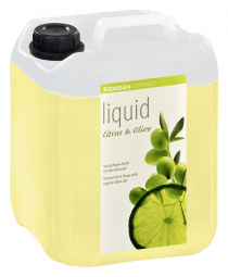 BIO tekuté mydlo na ruky Citrón - Oliva 5l