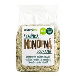 Konopné semienka lúpané 250 g BIO COUNTRY LIFE