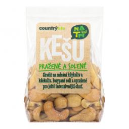 Kešu orechy pražené solené 100 g COUNTRY LIFE