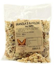 Granola bezlepková s mandľami 200g