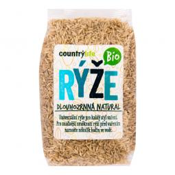 Ryža dlhozrnná natural 500 g BIO COUNTRY LIFE