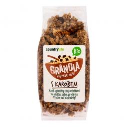 Granola - Chrumkavé müsli s karobom 350 g BIO COUNTRY LIFE