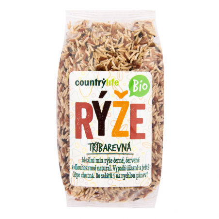 Ryža trojfarebná 500 g BIO COUNTRY LIFE