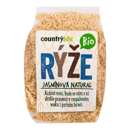 Ryža jazmínová natural 500 g BIO COUNTRY LIFE