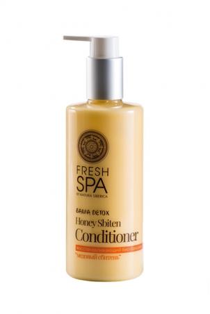 Prírodný medový kondicionér pre obnovu zničených vlasov BANIA DETOX