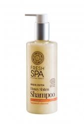 Prírodný medový šampón pre obnovu zničených vlasov BANIA DETOX