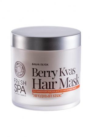 Vitamínová vlasová maska z kvasených bobúľ BANIA DETOX