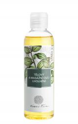 Telový a masážny olej Uvoľnenie 200ml