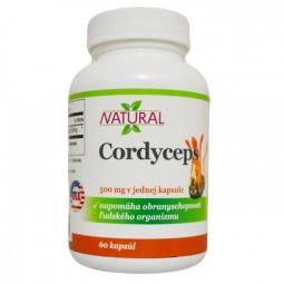 Cordyceps 500 mg - 60 kapsúl