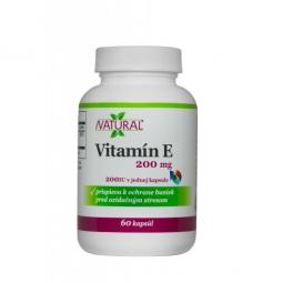 AKCIA SPOTREBA: 12/2019 - Vitamín E - DL-alpha tocopheryl acetate 60 kpsl