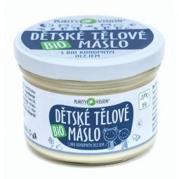 Detské telové maslo BIO 200 ml