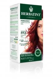 HERBATINT permanentná farba na vlasy karmínová červená FF2