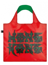 Nákupná taška LOQI Alex Trochut Hong Kong