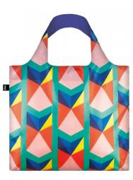 Nákupná taška LOQI Geometric Triangles New